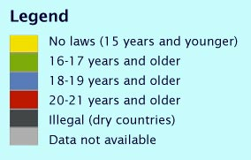 Drinking Underage Legal Age The What - Is